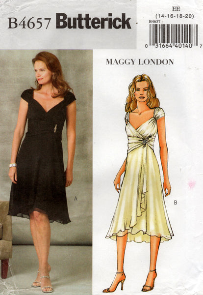 butterick 4657 maggy london oop dress