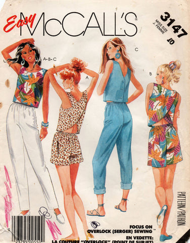 McCall's 3147 80s separates