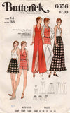 butterick 6656 70s separates