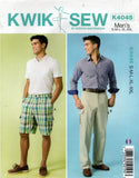 kwik sew 4045 2000s mens cargo shorts and pants