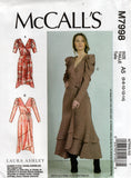 McCall's M7998 Laura Ashley OOP Dress