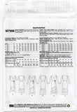 McCall's M7998 LAURA ASHLEY Womens Wrap Dress OOP Sewing Pattern Size 6 - 14 or 14 - 22 UNCUT Factory Folds