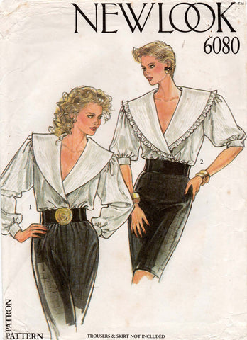 new look 6080 80s blouses