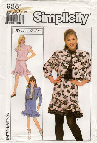 simplicity 9251 sherry holt skirt suit