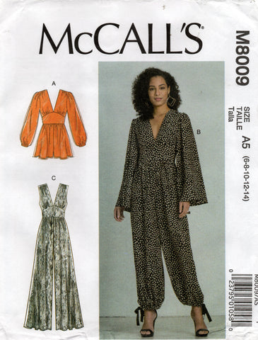 McCall's 8009 jumpsuit