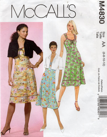 McCall's 4830 dress and jacket
