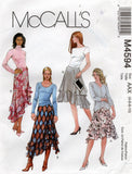 McCall's 4594 oop skirts