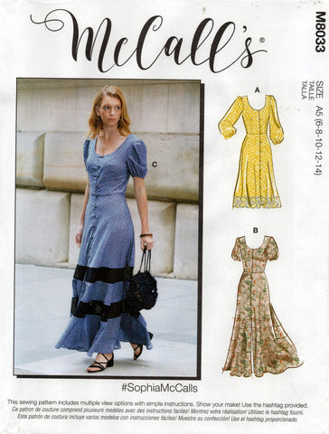 McCall's 8033 sophiamccalls dress