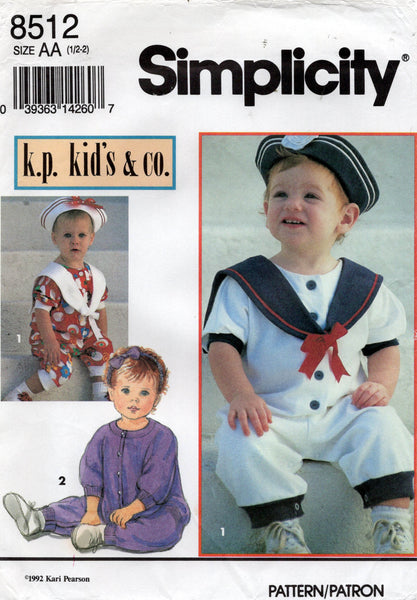 simplicity 8512 sailor suit