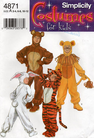 simplicity 4871 costumes