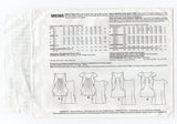 McCall's M6565 Womens Lined Draped Summer Tops OOP Sewing Pattern Sizes 6 - 14 UNCUT Factory Folded