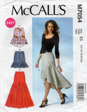 McCall's 7054 skirts oop
