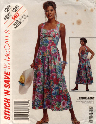 McCall's 5417 90s sundress