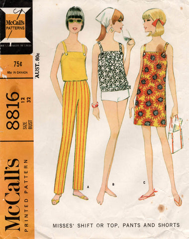 McCall's 8816 60s separates