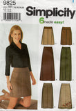 Simplicity 9825 Womens Classic Skirts Out Of Print Sewing Pattern Size 6 - 12 or 14 - 20 UNCUT Factory Folded