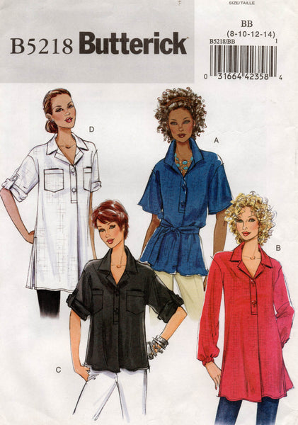 butterick 5218 oop shirt