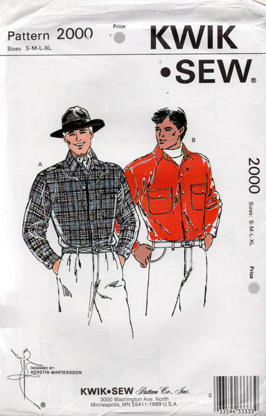 kwik sew 2000 mens shirts