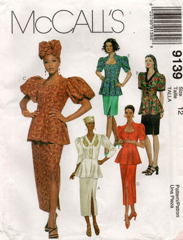 McCall's 9139 90s african outfit