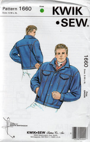 kwik sew 1660 80s mens jacket