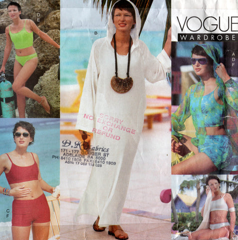 vogue 2300 90s beach wear