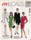 McCall's 8048 90s dress and jacket