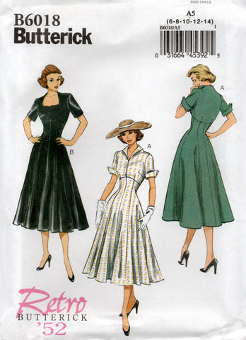 butterick 601850s repro dress