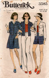 butterick 3585 70s separates