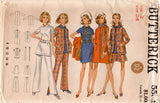 Butterick 5551 Womens Coat Jacket Dress Top Skirt & Pants 1960s Vintage Sewing Pattern Size 12 Bust 34 Inches