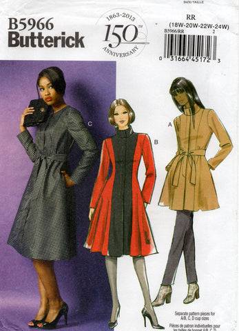butterick 5966 coat