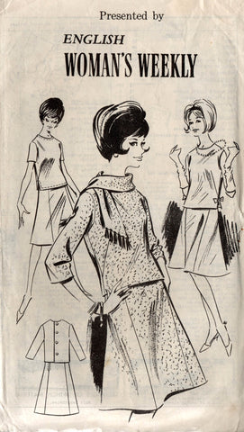 Womans Weekly 60s 2 pc dress
