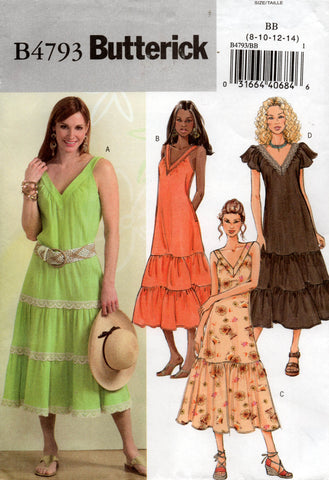 butterick 4793 oop dress