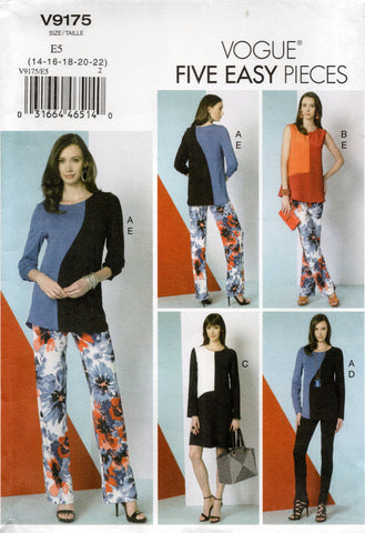 vogue 9175 oop separates