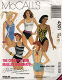 McCall's 4301 swimsuits 80s