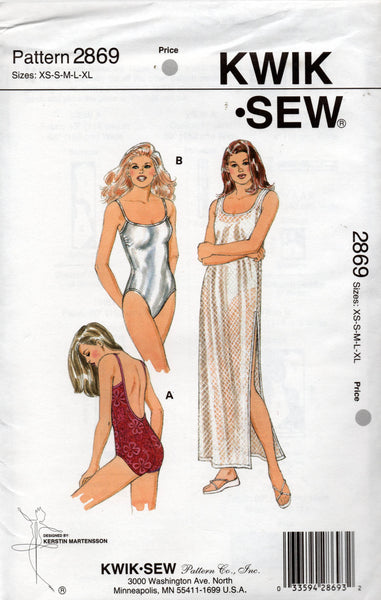 kwik sew 2869 oop dress and swimsuits