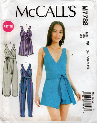 McCall's 7788 rompers jumpsuit