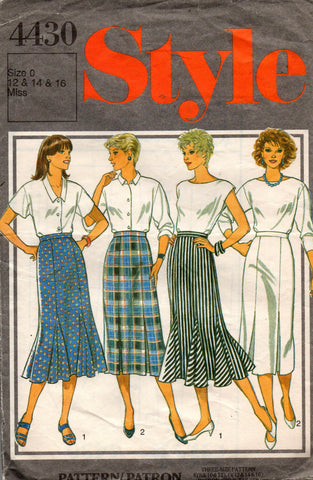 Style 4430 skirts 80s