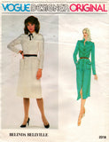 Vogue 2318 Belinda Bellville 70s dress