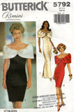 butterick 5792 rimini 90s dress