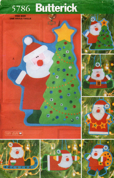 Butterick 5786 christmas decorations