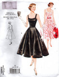 Vogue V 2902 Womens PLUS SIZE Full Skirt Sundress 50s Reissue Sewing Pattern Size 12 - 16 or 18 - 22 UNCUT Factory Folded