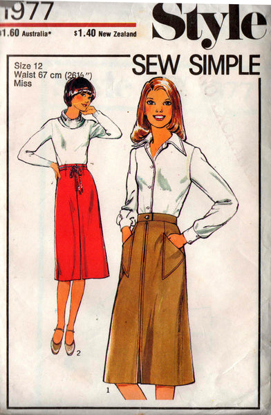 style 1977 skirts 70s