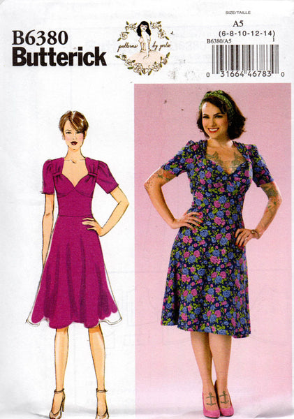 Butterick 6380 Gerties Dress