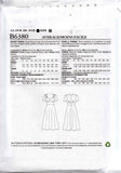 Butterick B 6380 GERTIE'S Womens Retro Shaped Bodice Midriff Panel Dress OOP Sewing Pattern Size 6 - 14 UNCUT Factory Folded