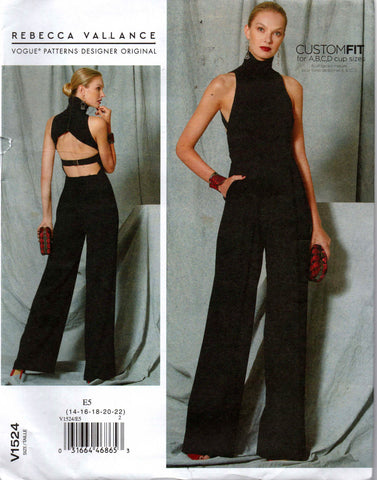 Vogue 1524 Rebecca Vallance jumpsuit