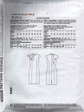 Vogue American Designer 1513 BADGLEY MISCHKA Womens Shoulder Draped Evening Dress Sewing Pattern Size 14 - 22 UNCUT Factory Folded