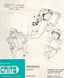 Bevknits 8006 A Babies & Toddlers Rompers & Sleep Suits 70s Vintage Sewing Pattern Sizes 6 - 18 months UNCUT Factory Folded