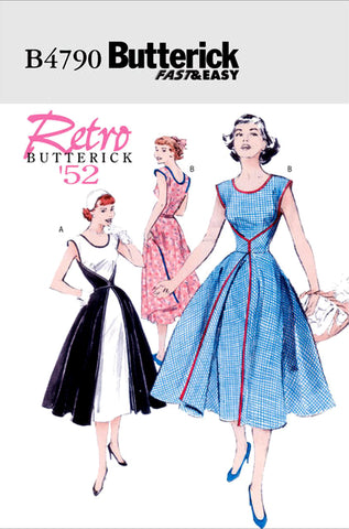 Butterick B4790 walkaway dress
