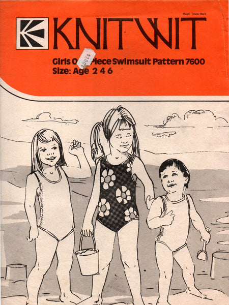 Knitwit 7600 toddler swimsuits