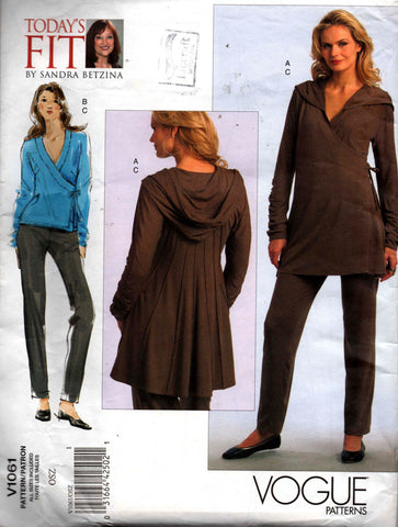 Vogue V1061 tunic and pants