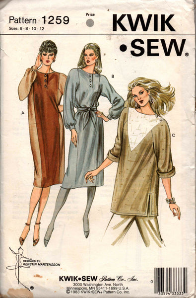 Kwik Sew 1259 dress or tunic